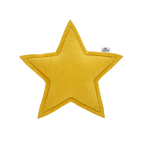 STAR CUSHION OCRE
