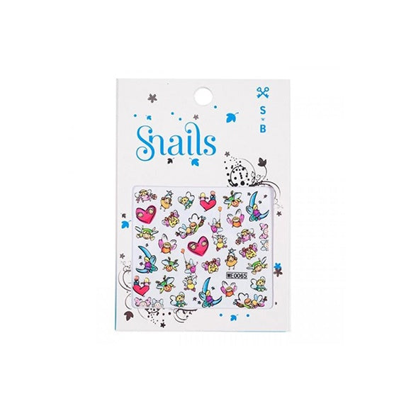 Nail Stickers Story Telling