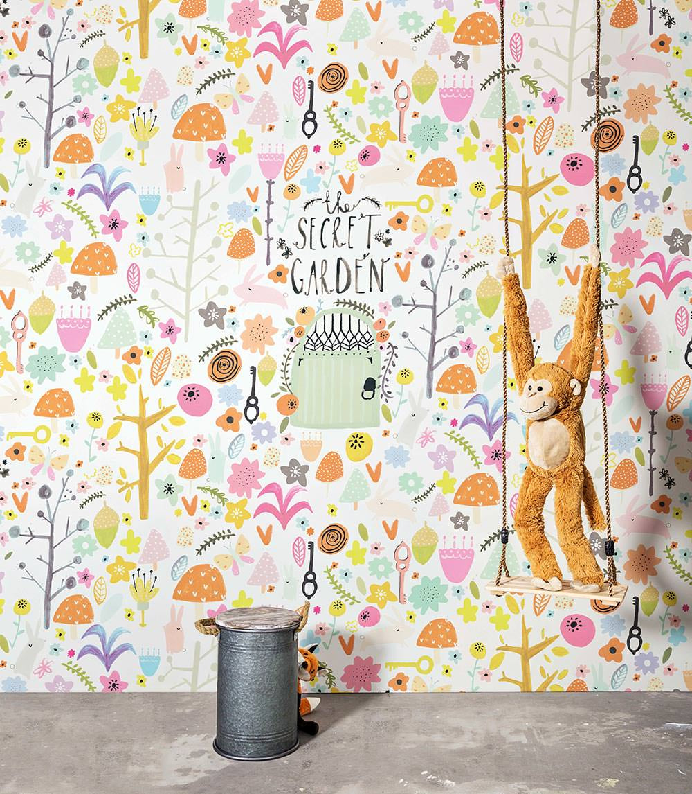 SMALL TALK Wallpaper Patten No. 30804