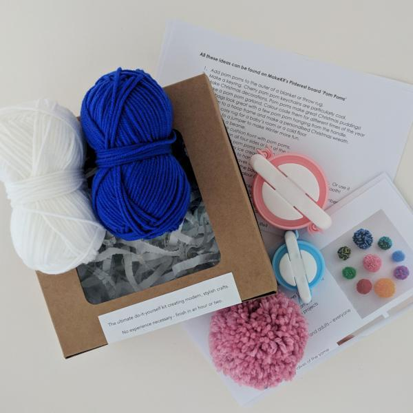 Make your own Pom poms