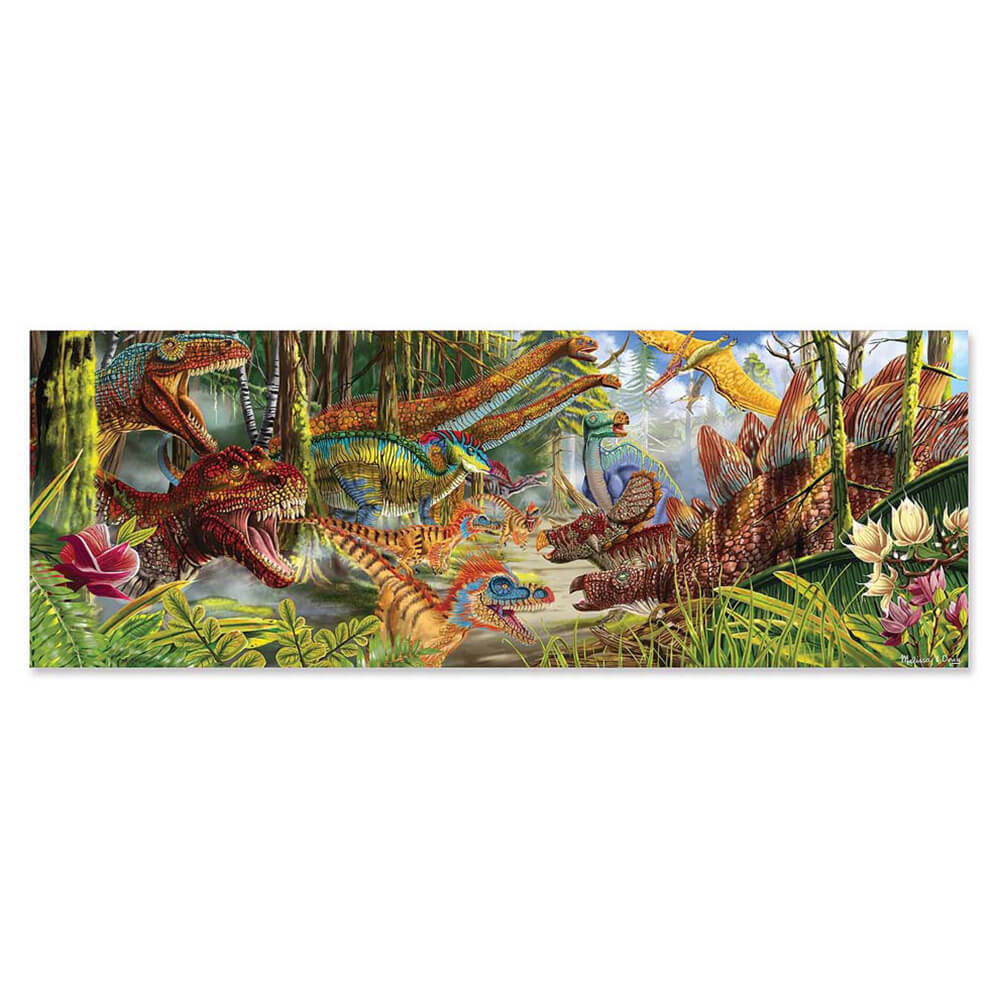 DINOSAUR WORLD FLOOR PUZZLE