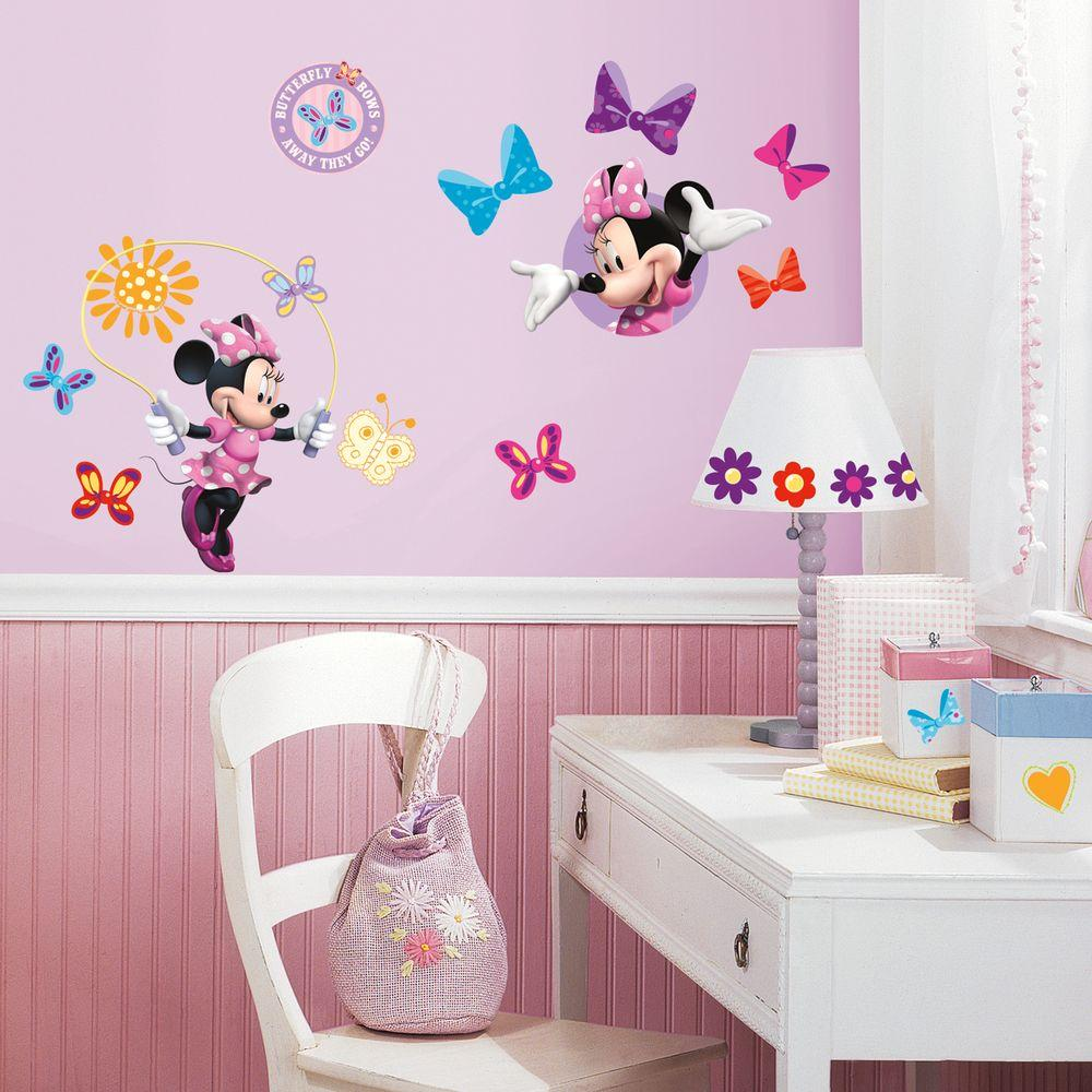 Room Decals Minnie Bow-Tique