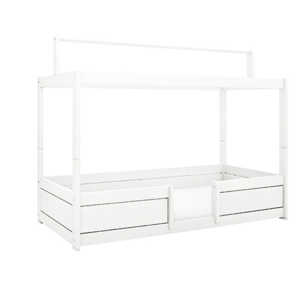 4 IN 1 BED FOR CANOPY / STANDARD SLATS-WHITE