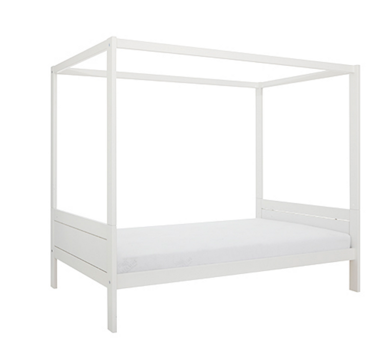 HANGOUT ON 5121 / LUXURY SLATTED BASE-WHITE