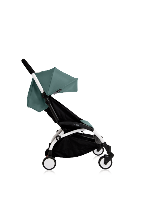 YOYO+ STROLLER WHITE WITH 6+ SEAT PAD