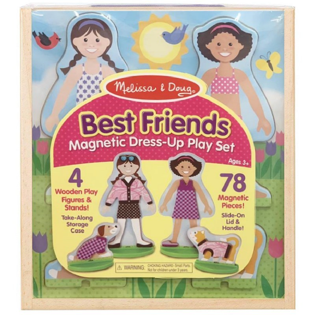 BEST FRIENDS MAGNETIC DRESSUP