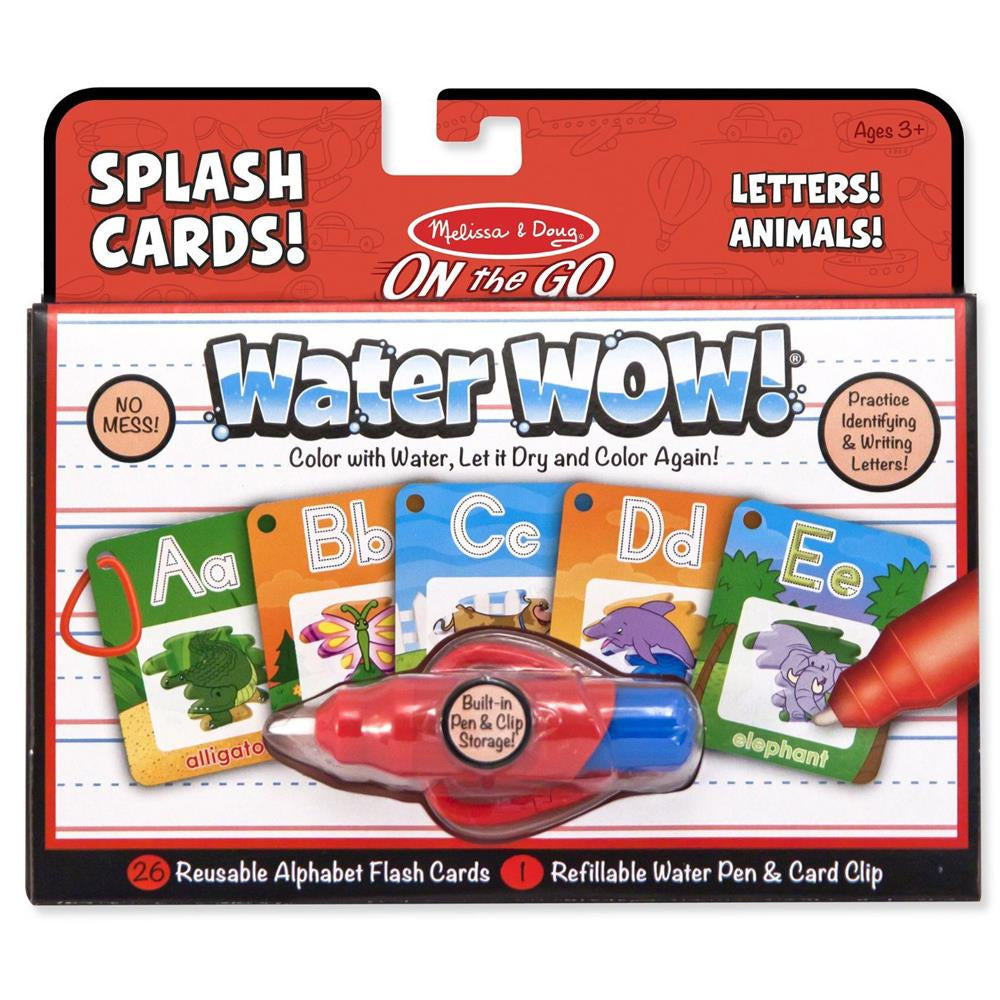 WATER WOW SPLASH CARDS ALPHABET