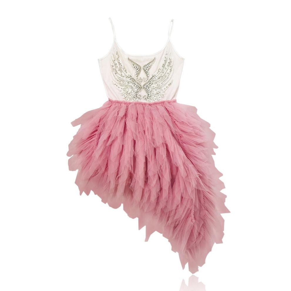 THE PINK ANGEL tutu dress pink small 4- 6Y