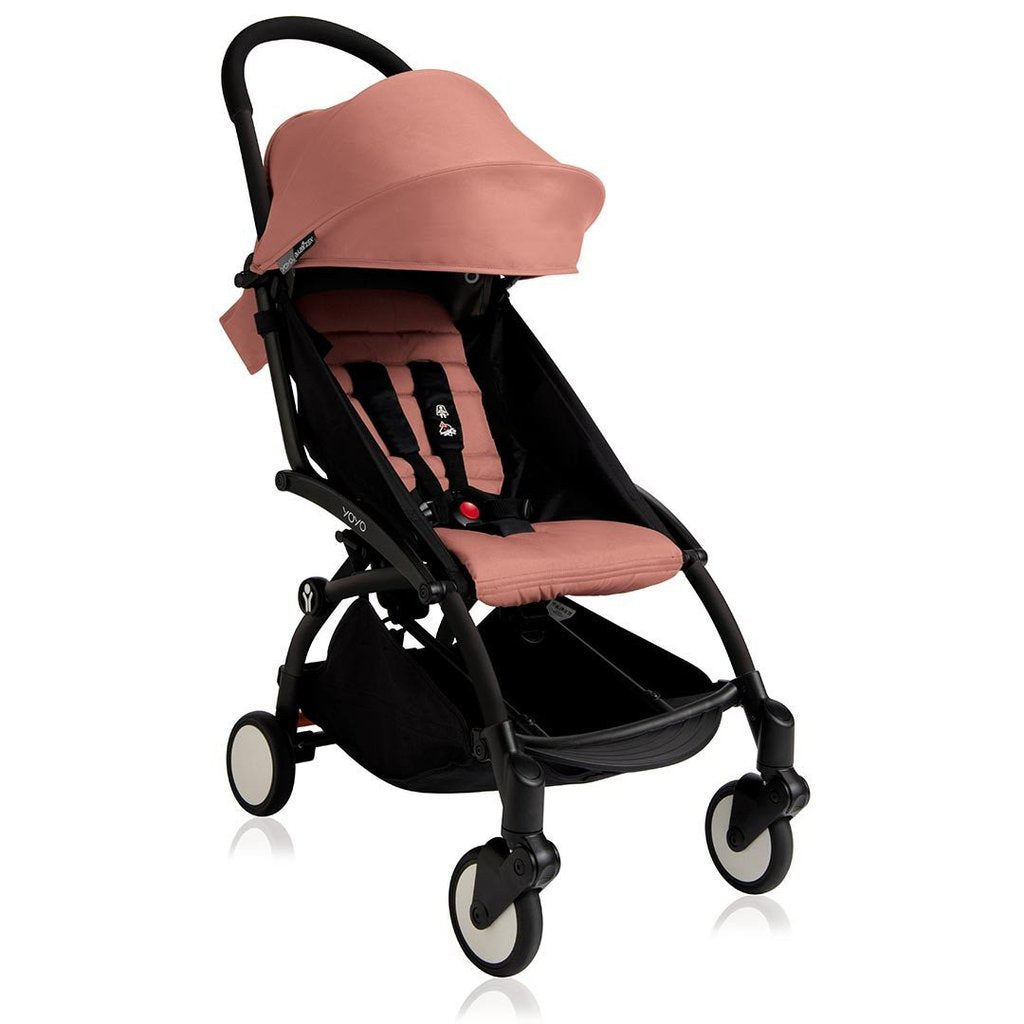 YOYO+ STROLLER BLACK WITH 6+ SEAT PAD