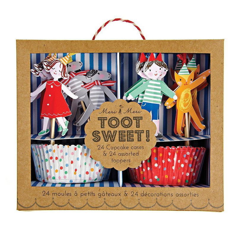 Merimeri Toot Sweet Children Cupcake Kit
