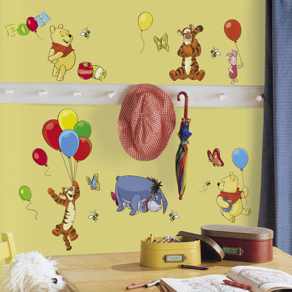 Room Decals Winnie the Pooh & Friends