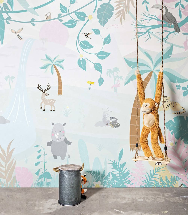 SMALL TALK Wallpaper Patten No. 219306