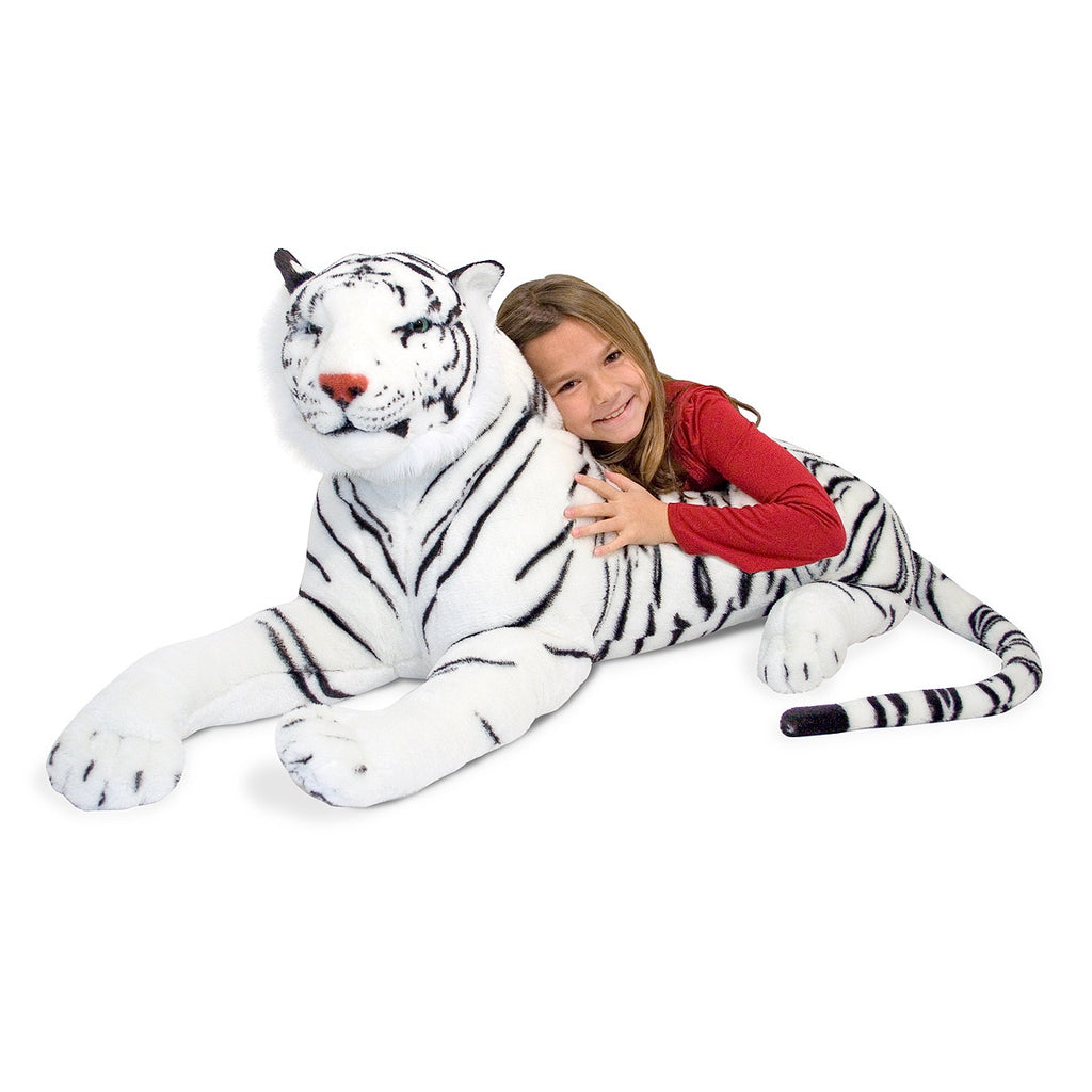 WHITE TIGHER PLUSH