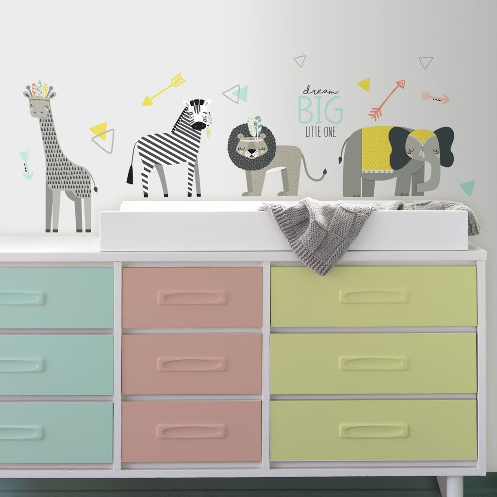 Room Decals Little Explorer Animals