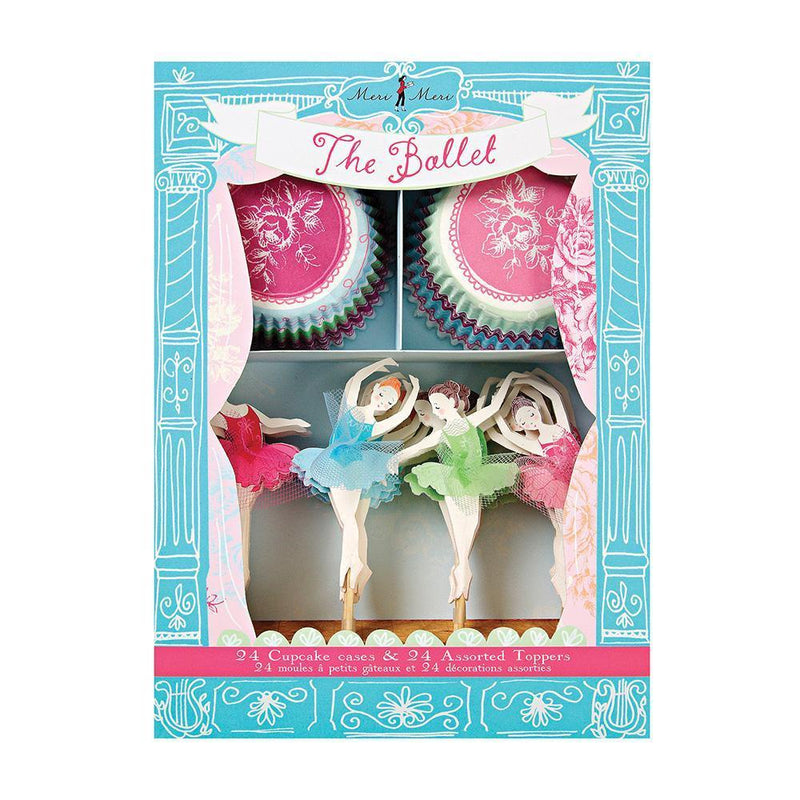 Merimeri The Ballet Cupcake Kit