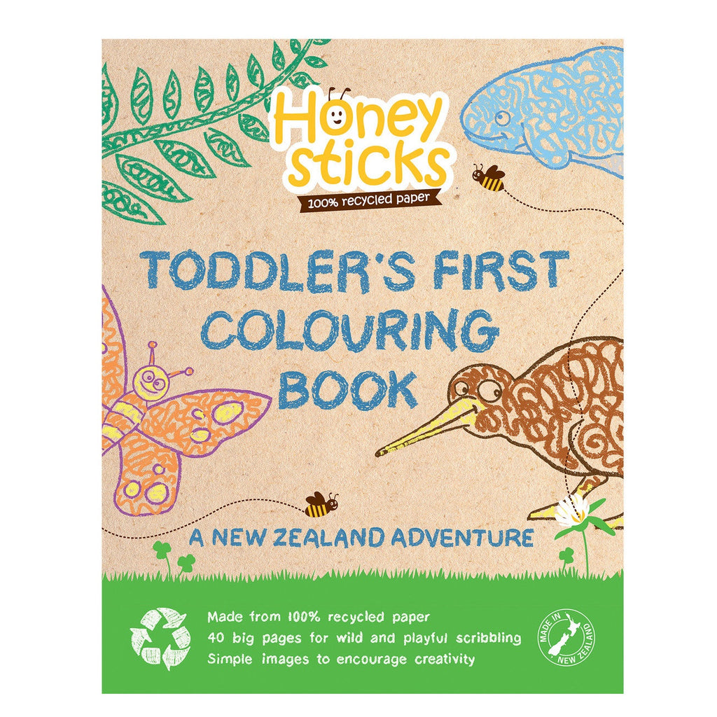 Colouring Book - A New Zealand Adventure