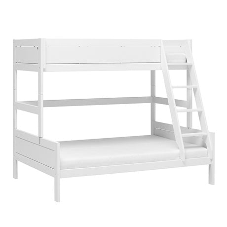 MIDHIGH BED / STANDARD SLATS WHITE