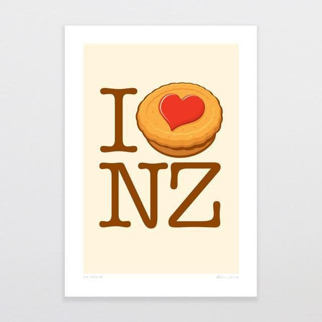 BLANK/ Pie Love NZ G.Jones