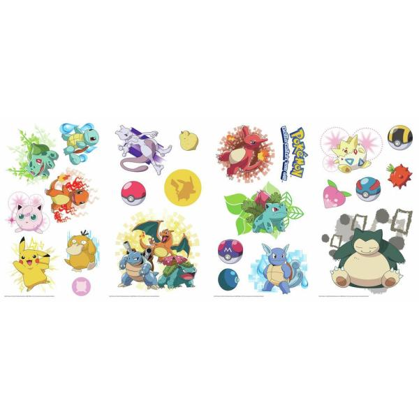 Room Decals Pokemon