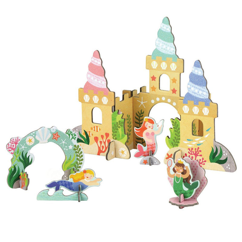 Mermaid Castle Pop Out