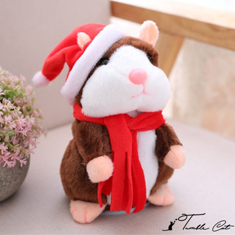 Christmas Gift! Cutie Talking Hamster