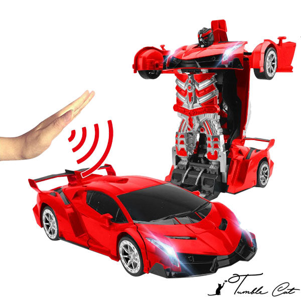 Ultra-Sensing Transformer RC Car