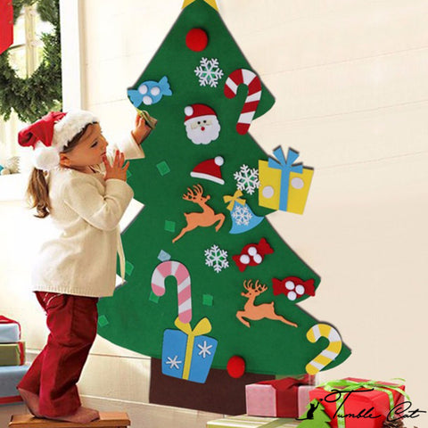 Happy Kiddos Felt Christmas Tree