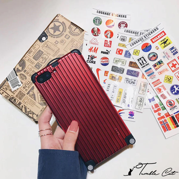 Wanderlust Luggage Phone Case