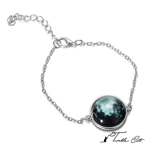 Glow In The Dark Moon Charm