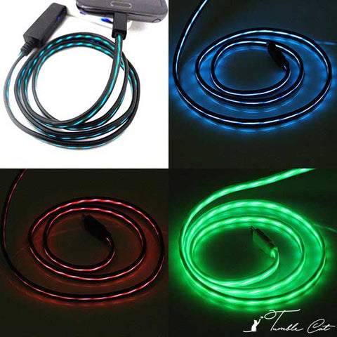 Flowing Light Cable