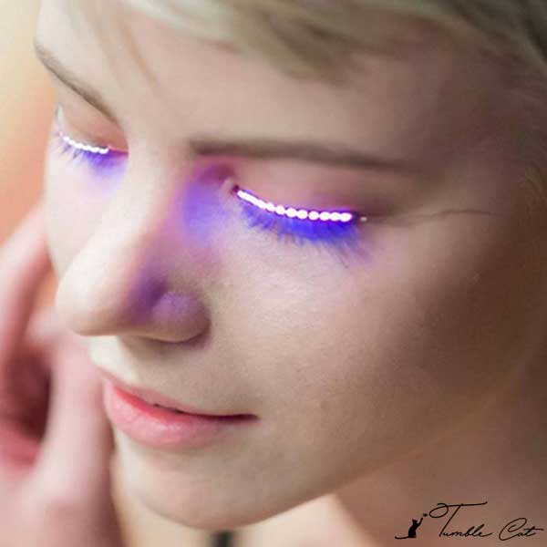 LED Waterproof Fake Eyelashes