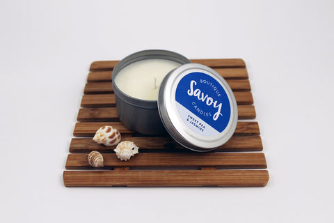 Soy Candle Travel Tins | Savoy Candles NZ