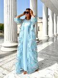 Larimar Dress-Kaftan