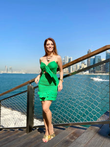 Missy Dress in Green