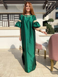 Kaftan-Dress with sequins