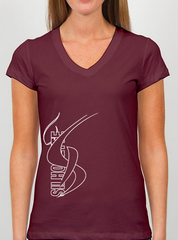 Recital 2015 - Silhouette - V-neck fitted T-Shirt