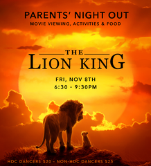 Parents' Night Out - Lion King Viewing - Fri Nov 8th, 2019