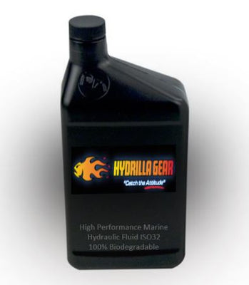 HG Marine Hydraulic Fluid ISO 32 - 100% Biodegradable - Quart