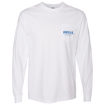 White Tortuga Pocket Long Sleeve