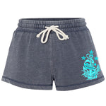 Ladies Navy Shorts
