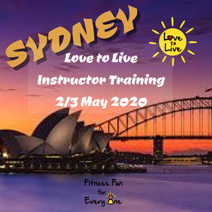 Love to Live Instructor training Sydney POSTPONED