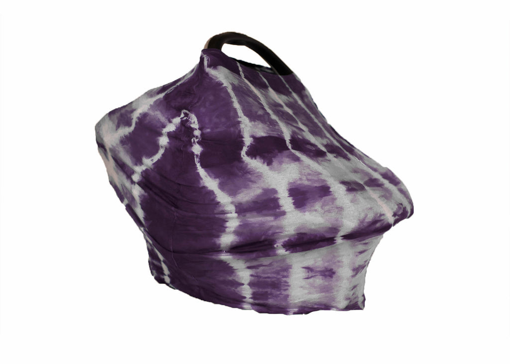 5-in-1 Cover - Plum Shibori