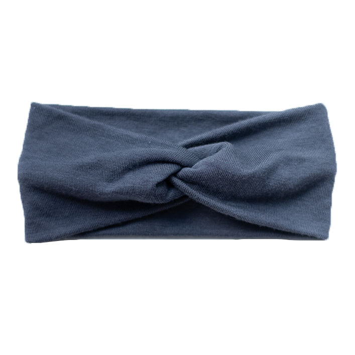Baby Marbled Stretch Headband - Grey