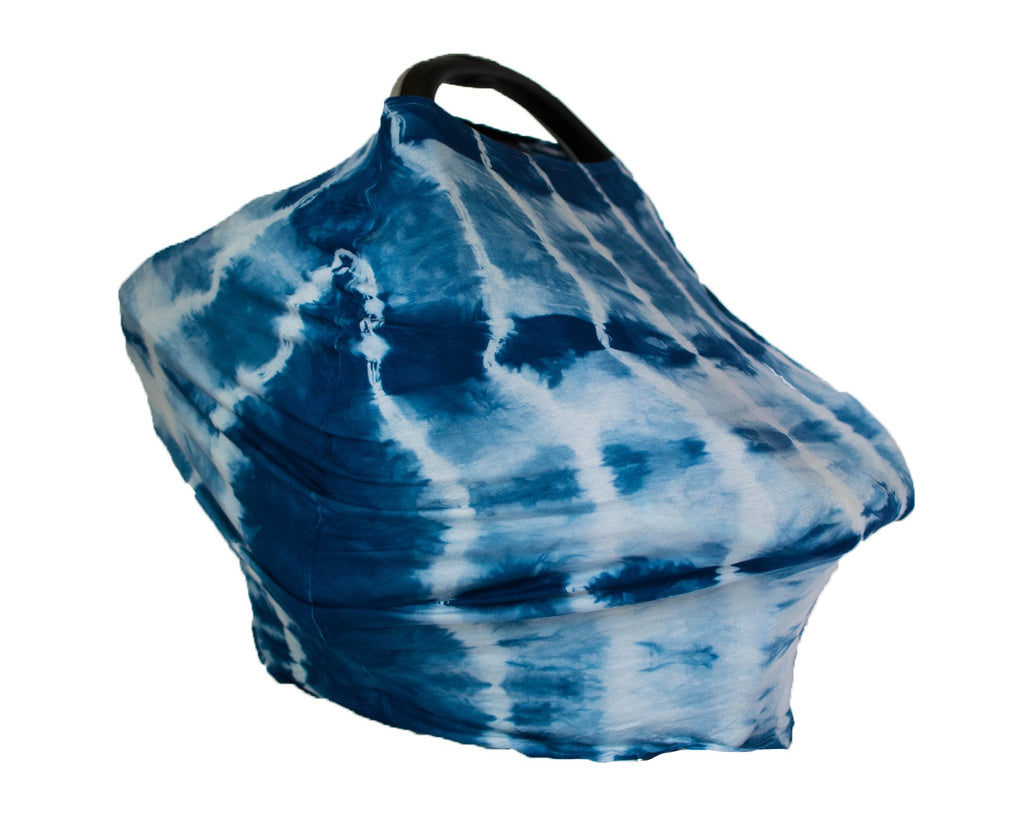 5-in-1 Cover - Indigo Shibori