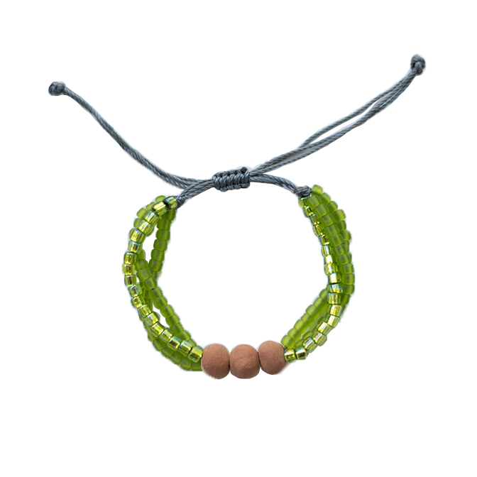 Color Stack Diffuser Bracelet - Palm