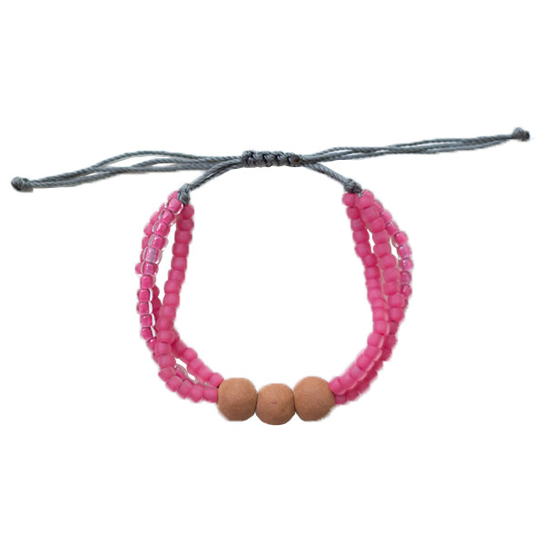 Color Stack Diffuser Bracelet - Watermelon