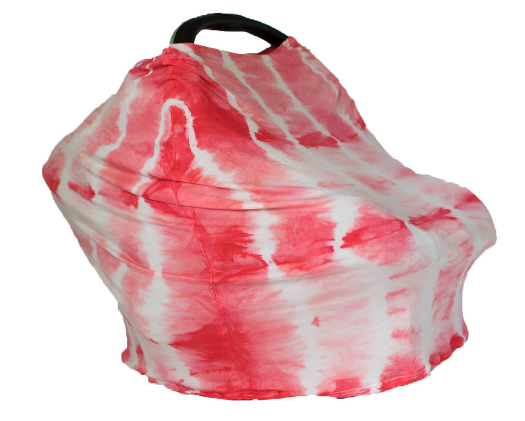 5-in-1 Cover - Coral Shibori
