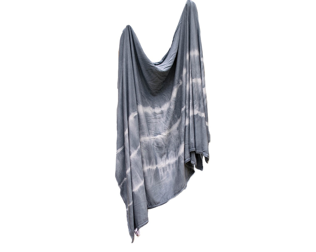 Stretch Swaddle - Grey Striped