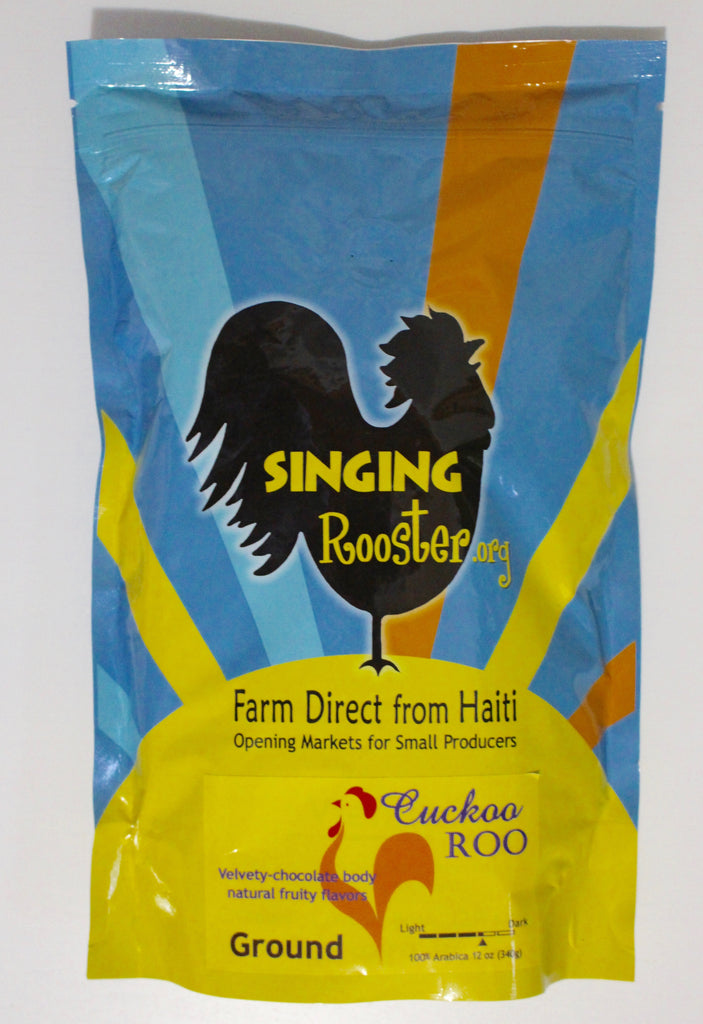 Haitian Coffee - Medium-Dark Roast - Cuckoo Roo