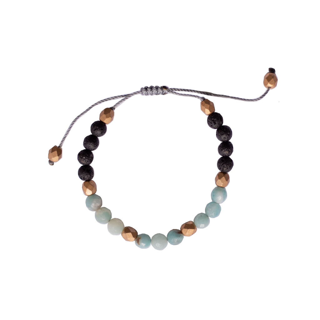 Gemstone Diffuser Bracelet - Energy (Amazonite)